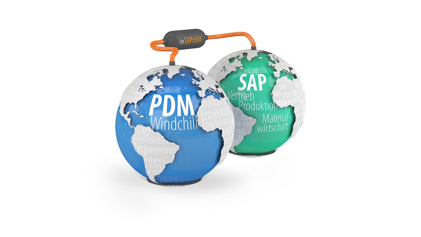 Logo Windchill PDMLink - SAP Integration