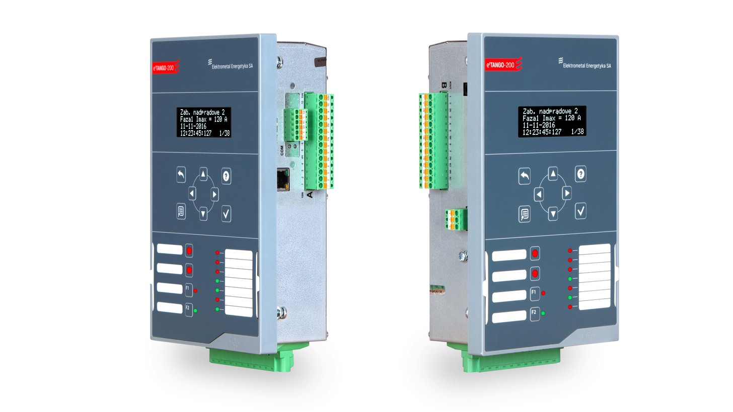 Etango 400 Protection Relay Product Hannover Messe 2018 Electrical Panel 200 Overcurrent