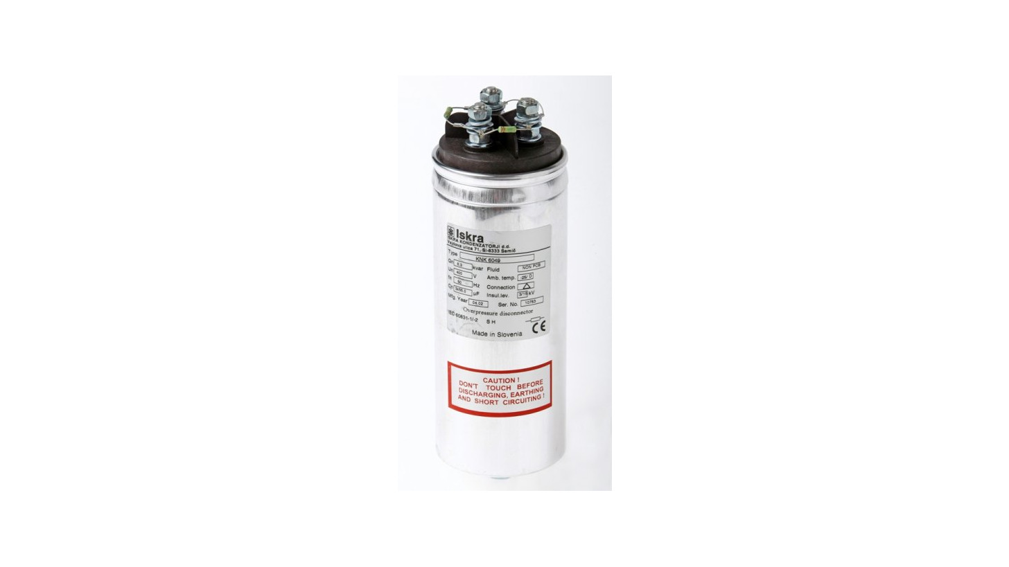 Logo Low voltage power factor correction capacitors