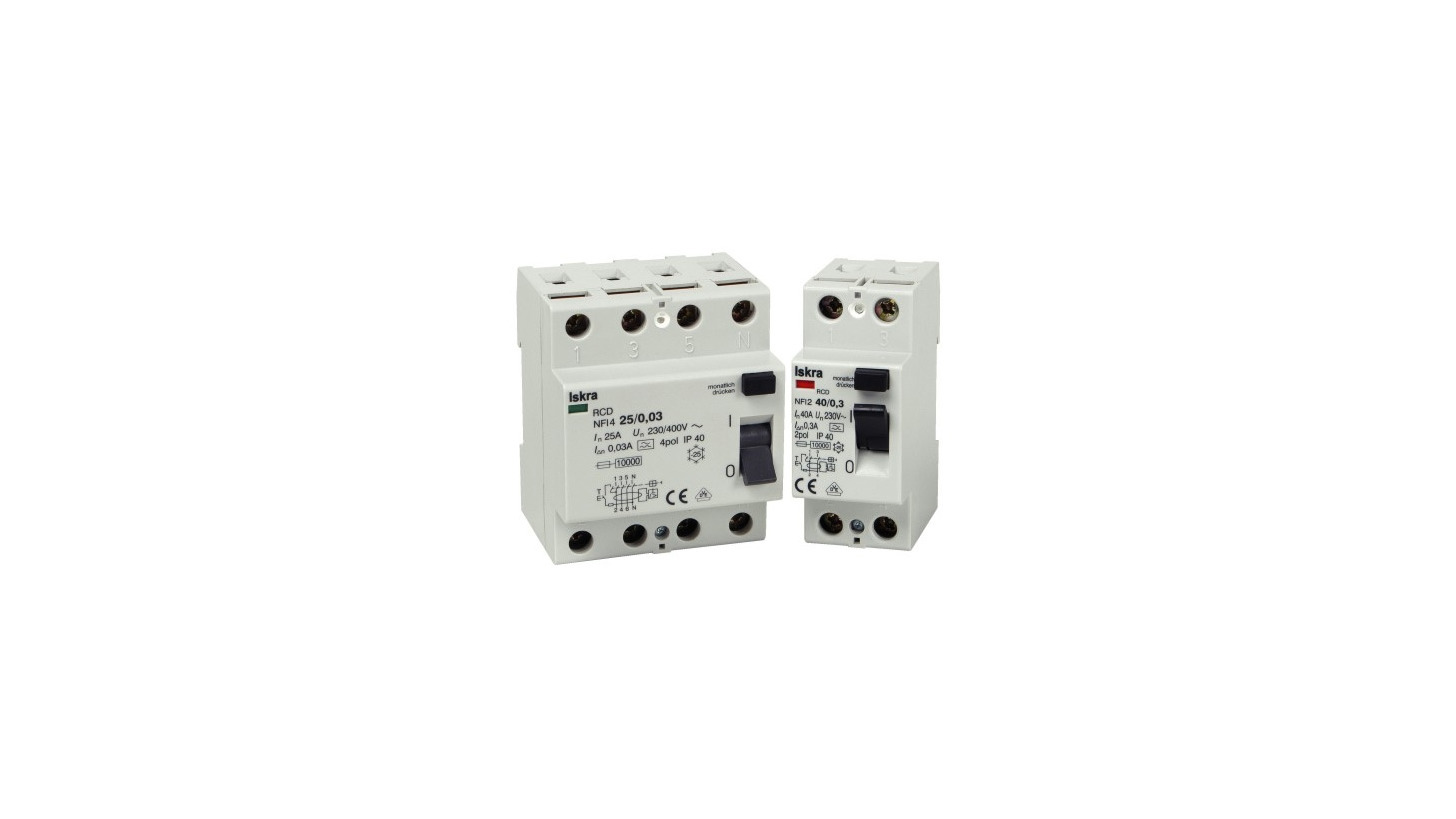 Logo Residual Current Circuit Breakers FI, NFI, RFI2