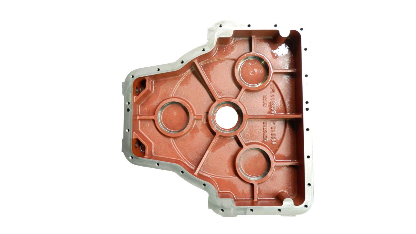Logo Transmission gear box casting
