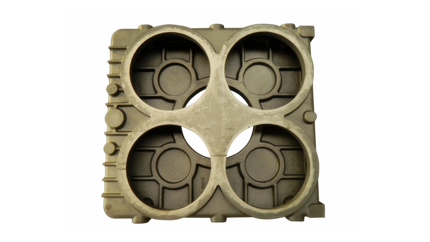 Logo Transmission gear box casting