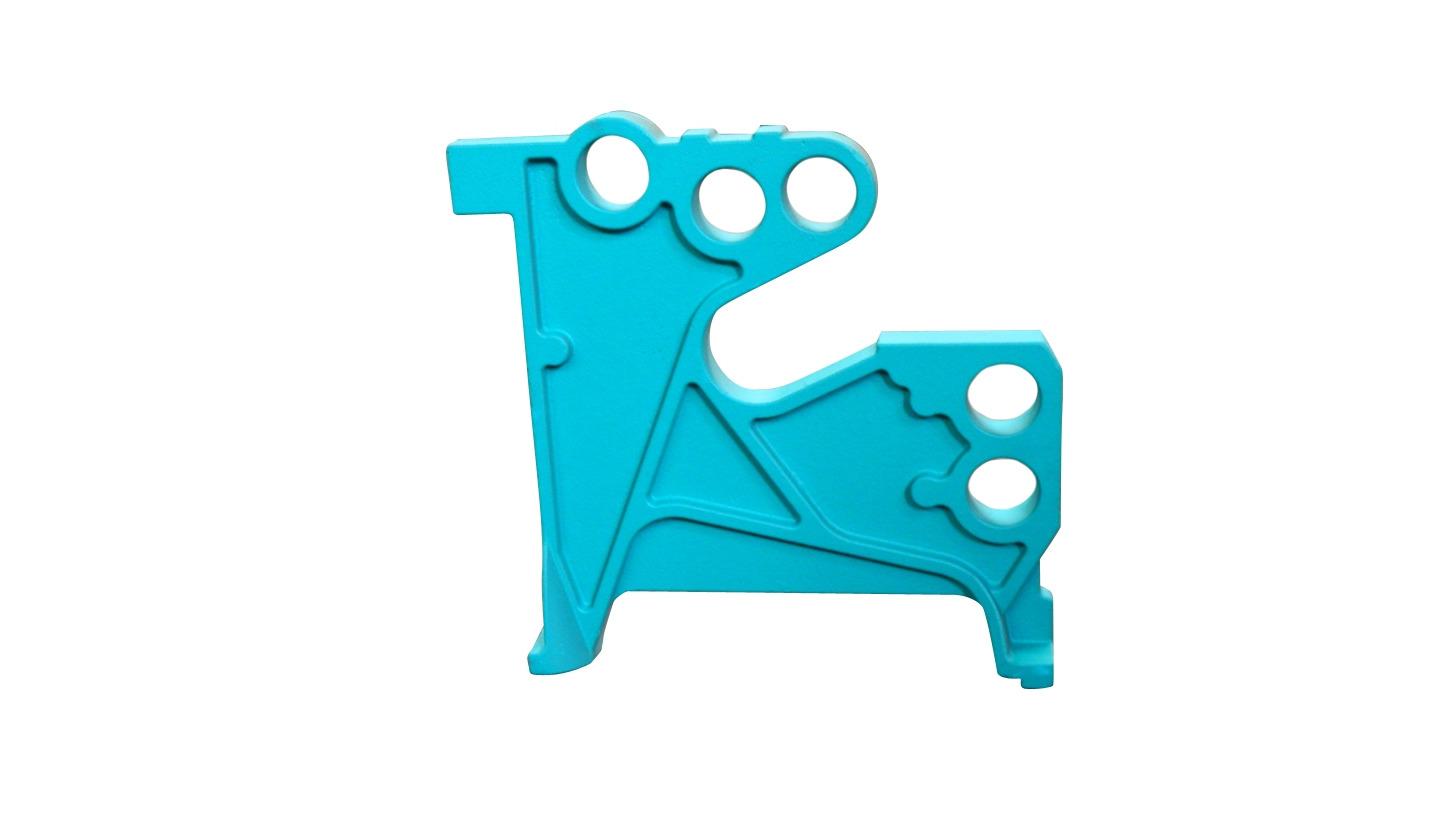 Logo Textile machine casting