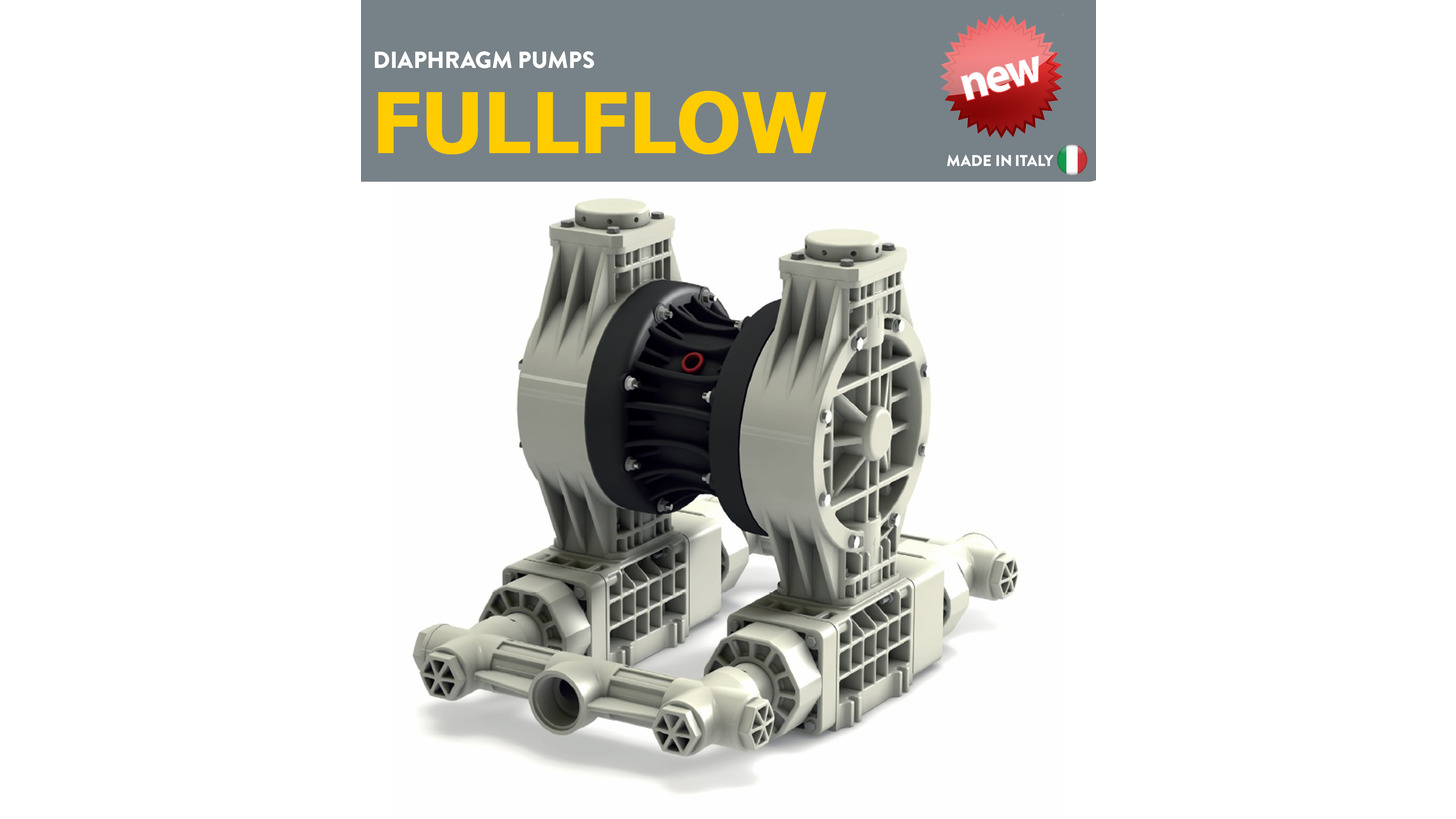 Logo FULLFLOW DOUBLE DIAPHRAGM PUMPS