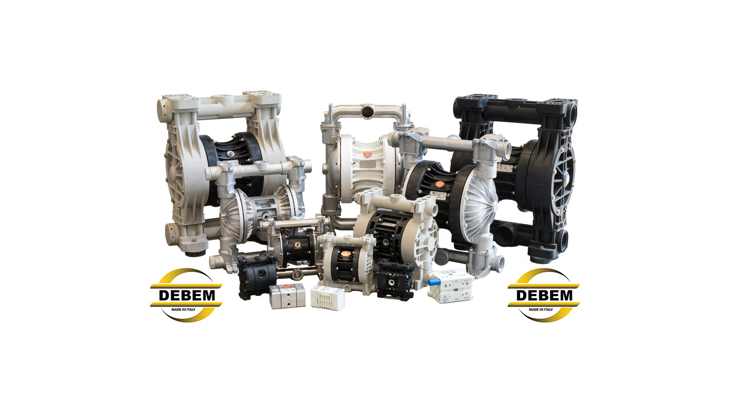 Logo BOXER DOUBLE DIAPHRAGM PUMPS