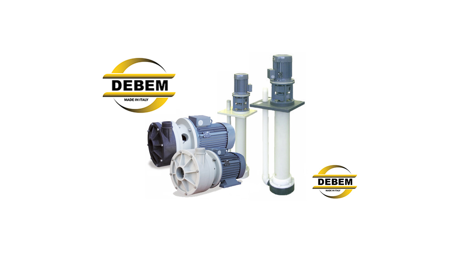 Logo HORIZONTAL / VERTICAL CENTRIFUGAL PUMPS
