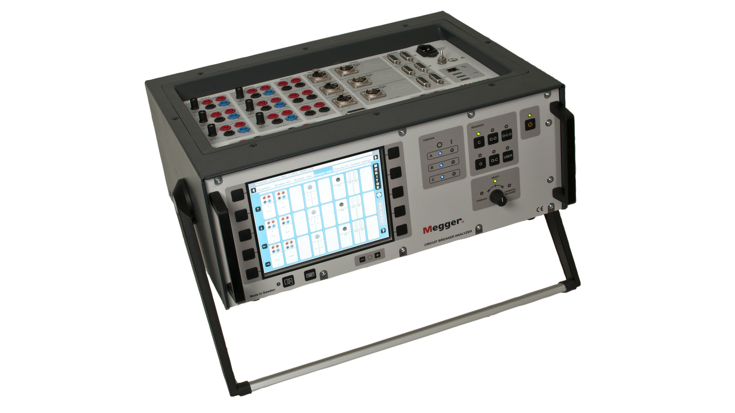 Logo TM1700 - Circuit Breaker Analyzer System