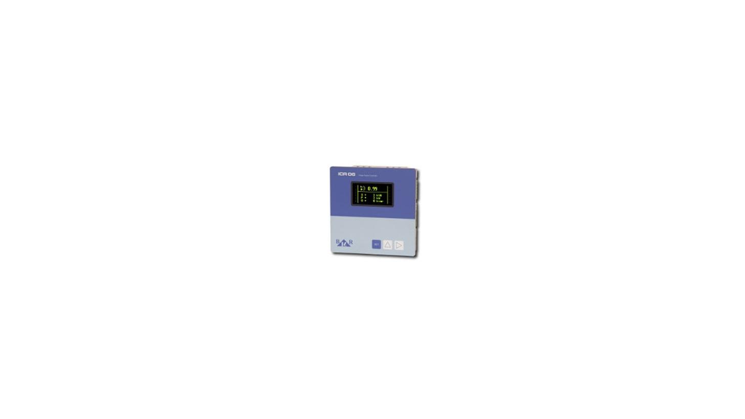 Logo ICR06 and ICR12 power factor controller