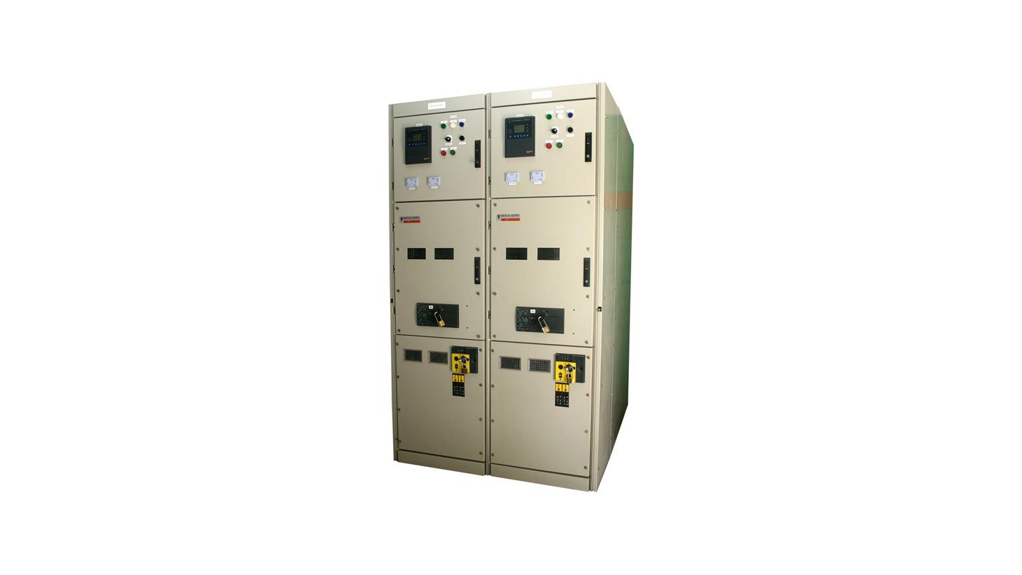 Logo Medium voltage switchgears - Metal clad and metal encloses