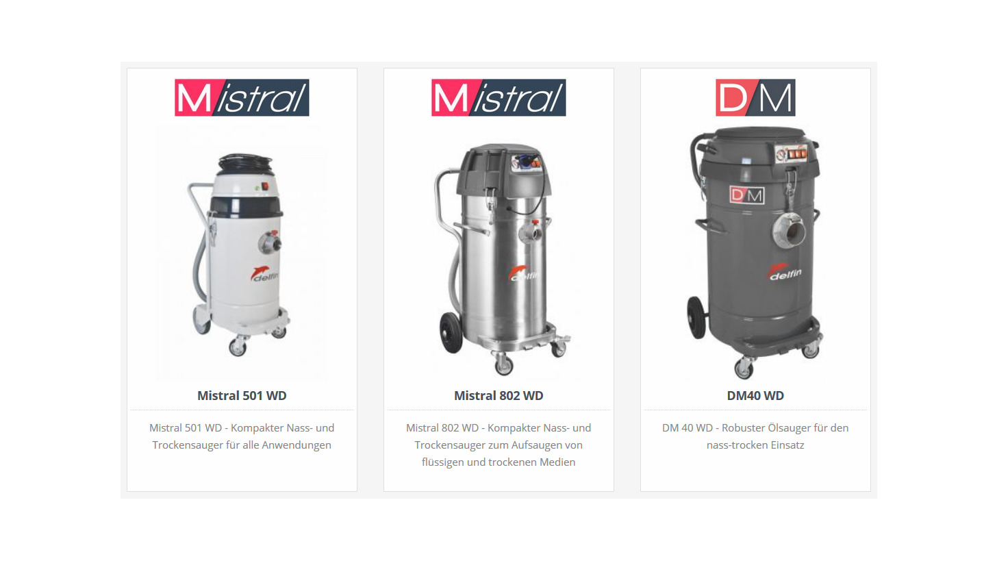 Logo Wet and dry vacuum cleaners
