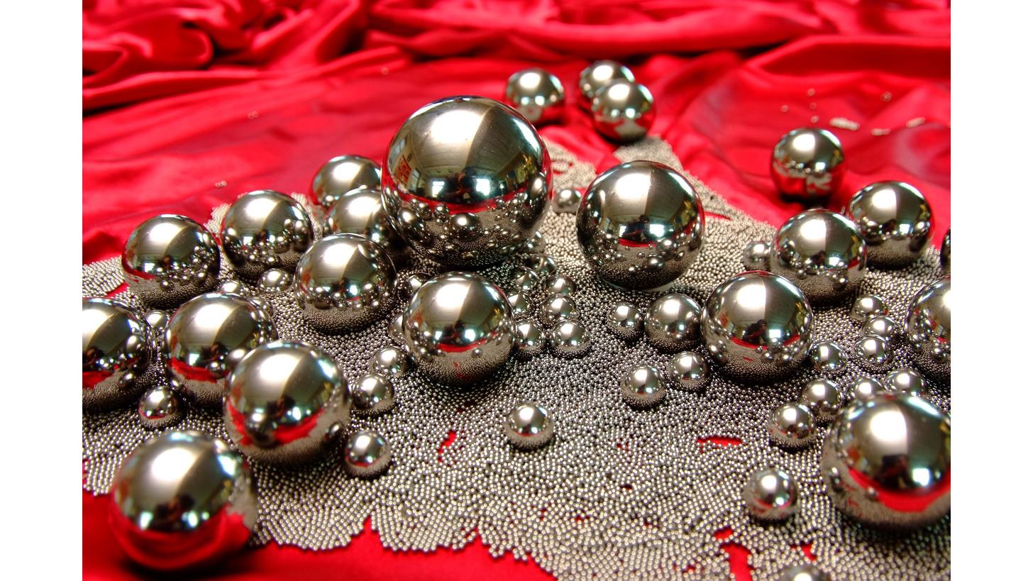 Logo Stainless Steel Balls