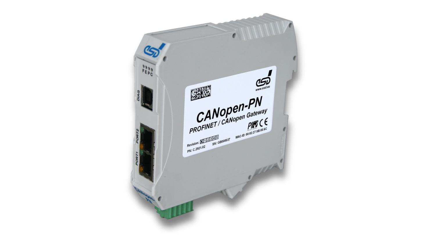 Logo Gateway: CANopen-PN