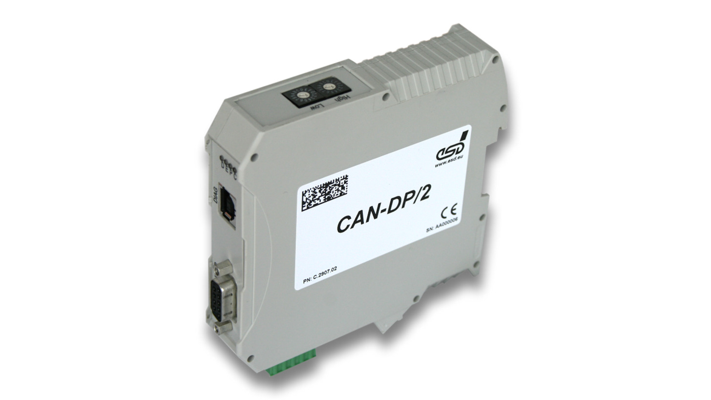 Logo Gateway: CAN-DP/2, CAN/PROFIBUS-DP®