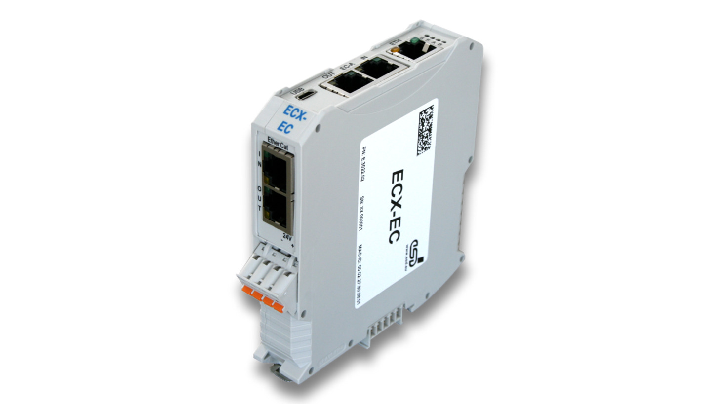 Logo Gateway: ECX-EC (EtherCAT® Slave Bridge)