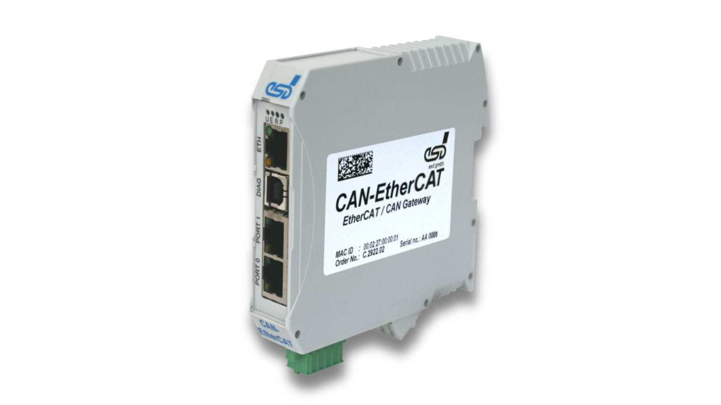 Logo Gateway: CAN-EtherCAT, EtherCAT/CAN