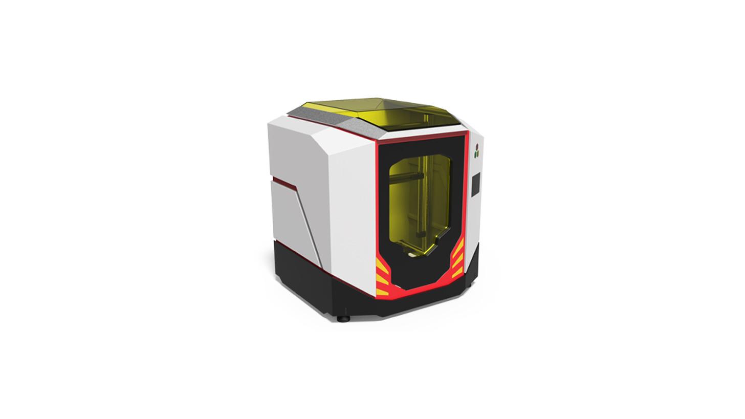 Logo 3D Printer Closure