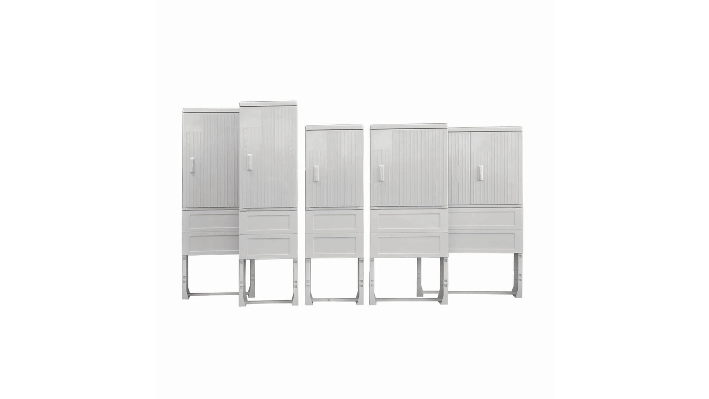 Logo cabinets for outdoor applications