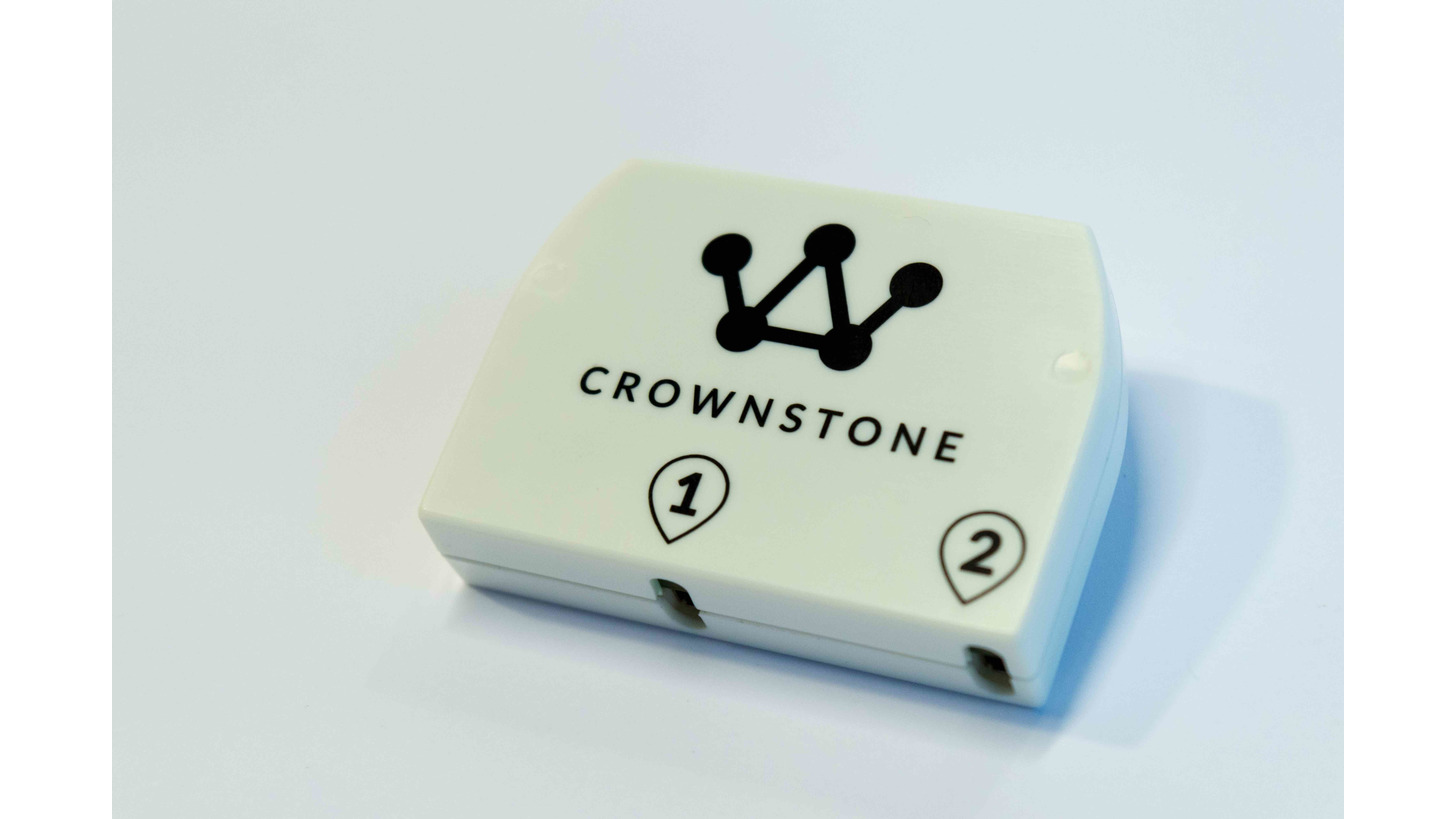 Logo Crownstone - Intelligente Gebäudetechnik