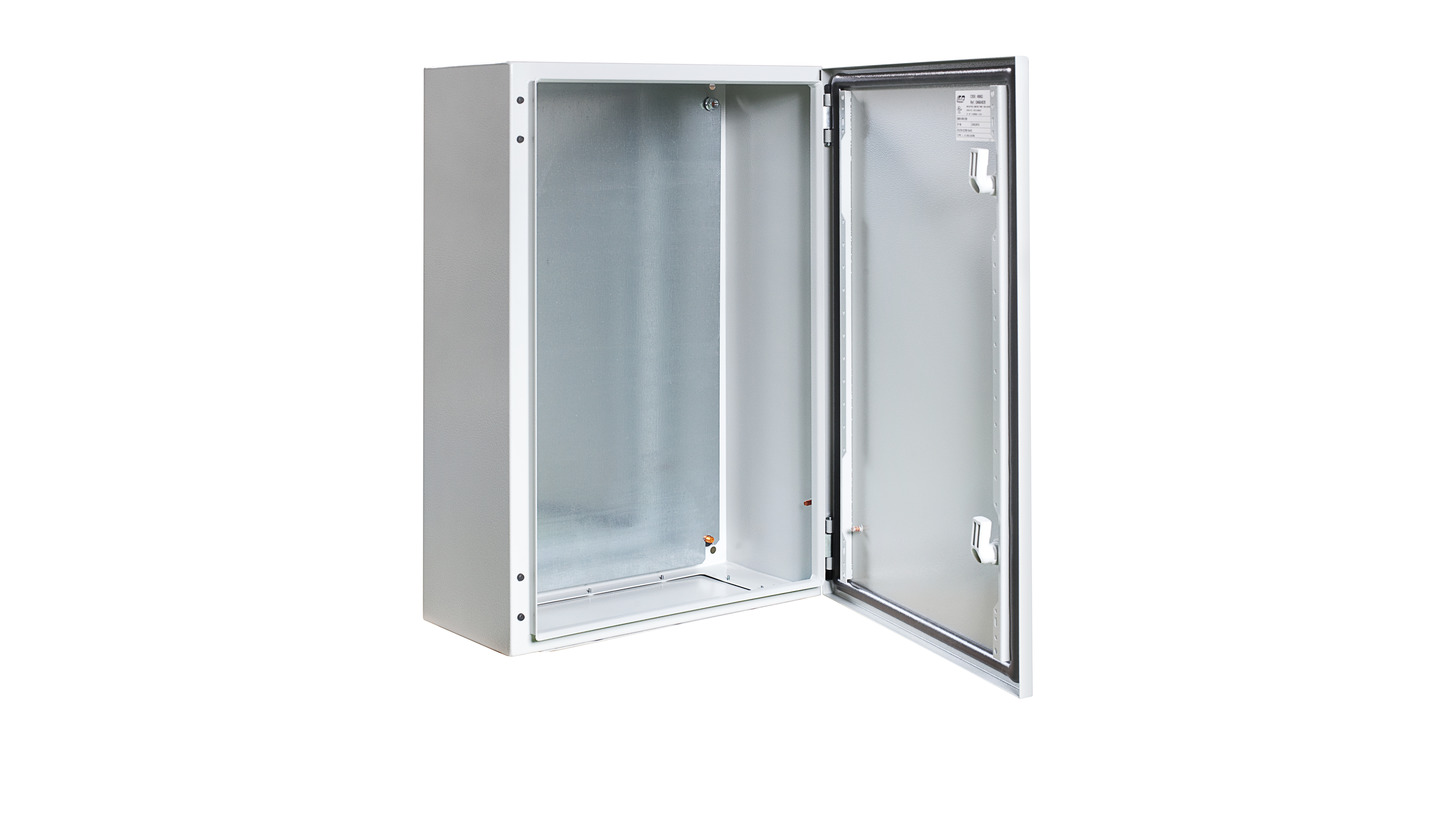 Logo IP66 wall mounting metal cabinets