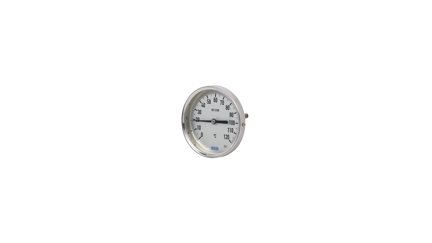 Logo Bimetal Thermometers Model 52, Industrial Series