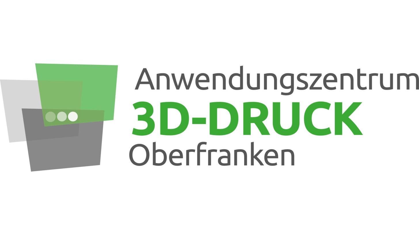 Logo Anwendungszentrum 3D-Druck Oberfranken