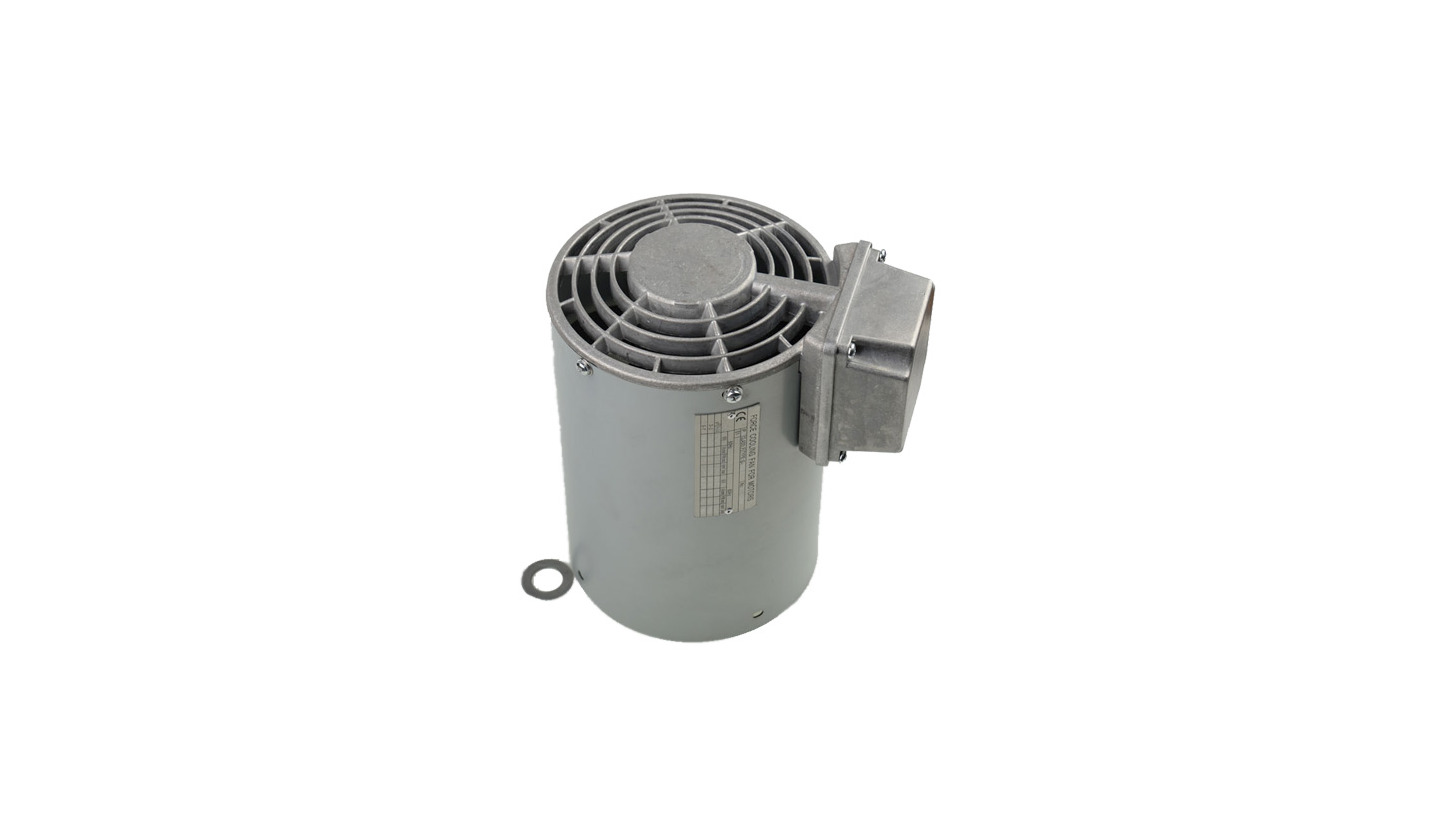 Logo Forced cooling fan for low voltage motor