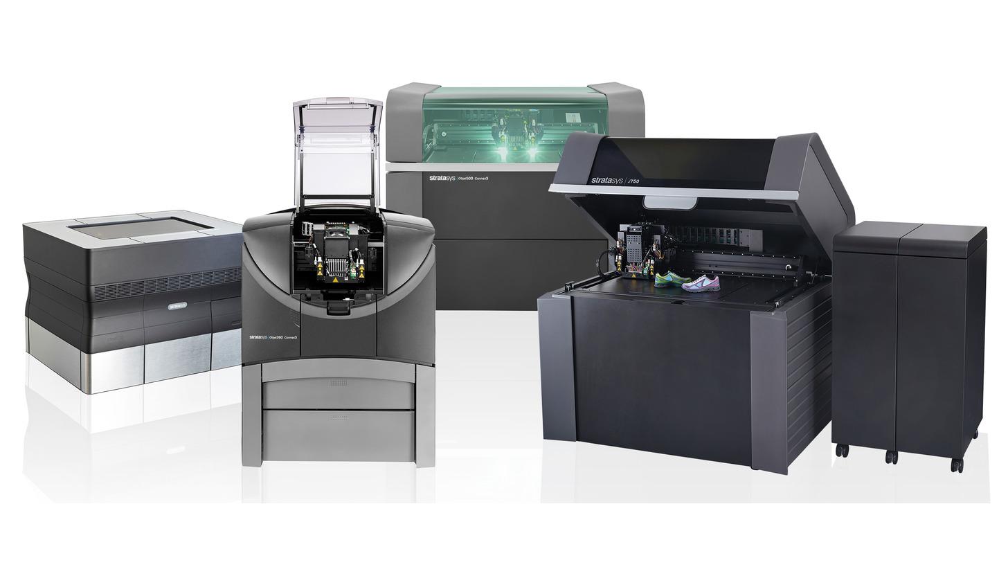 Logo 3D Drucker für PolyJet-Verfahren