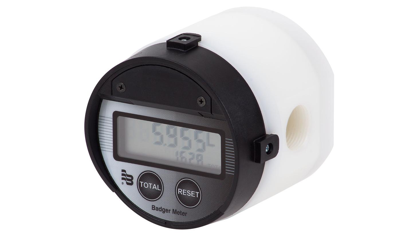 Logo Oval gear meters in PVDF