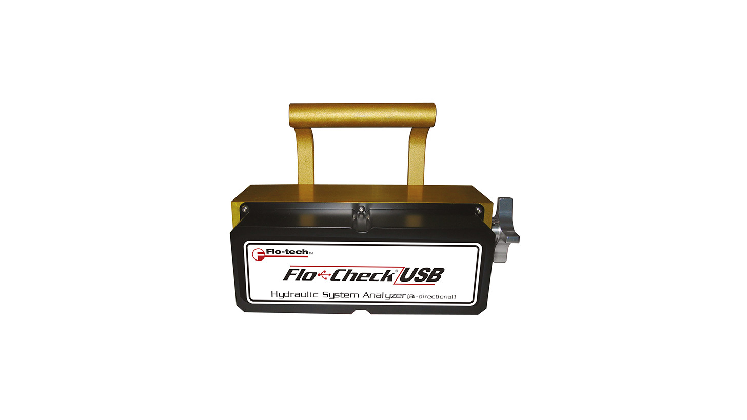 Logo Hydraulic testing with Flo-Check®