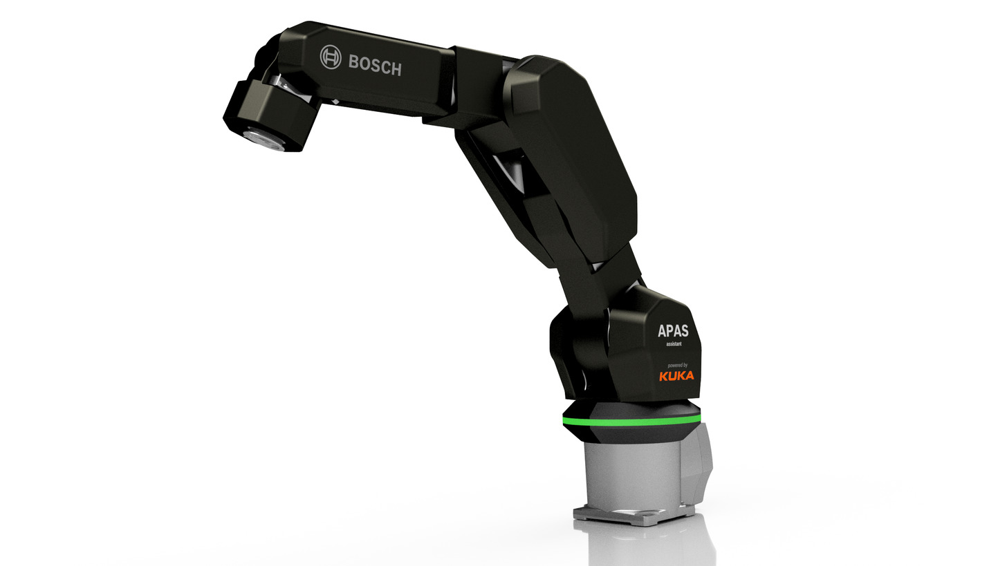 Logo Kollaborativer Roboter auf KUKA-Basis