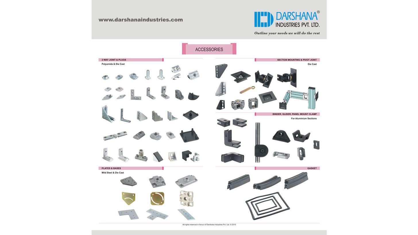 Logo Aluminium Sections Accessories