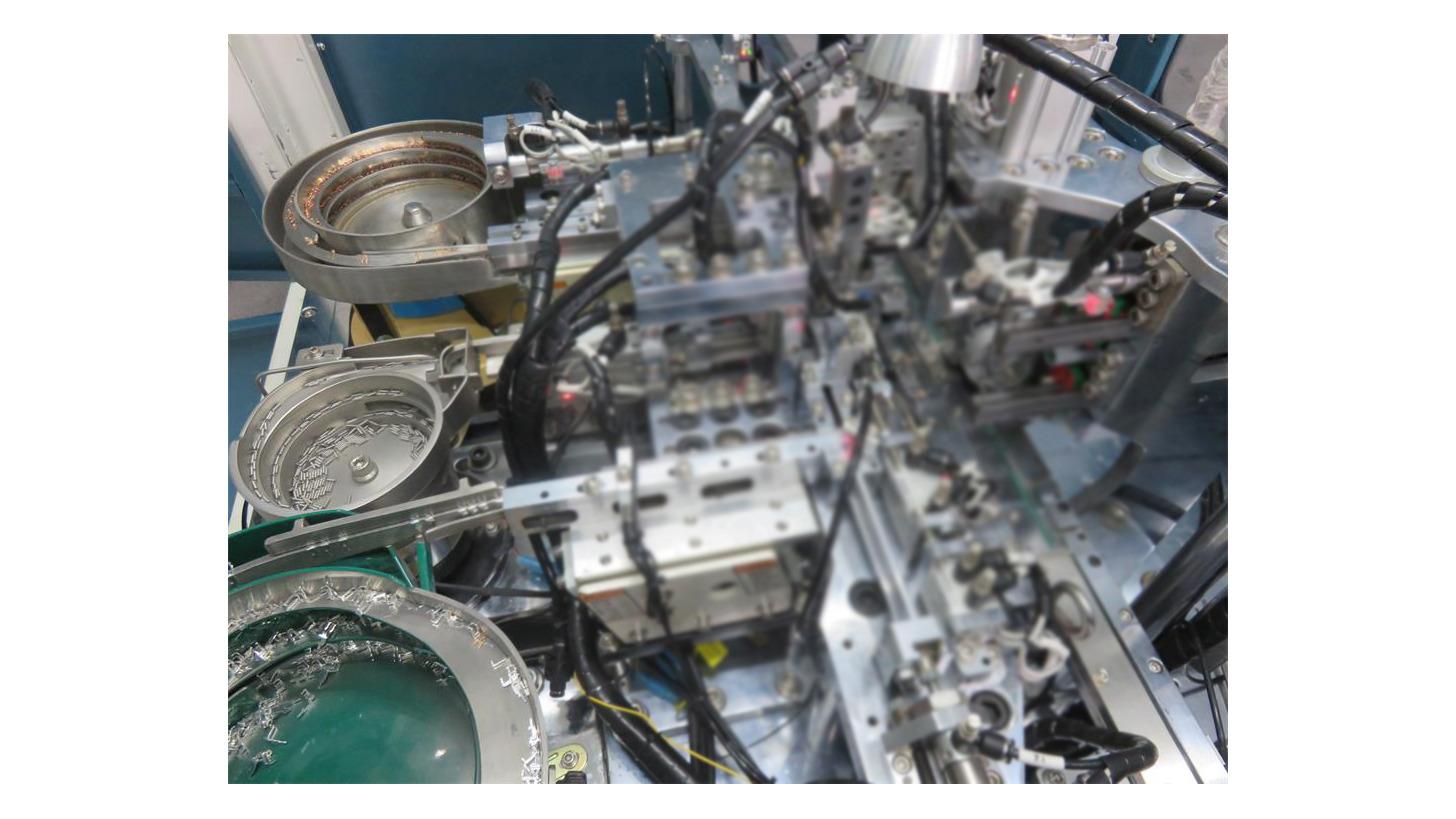 Logo Micro Switch Automatic Assembly Machine