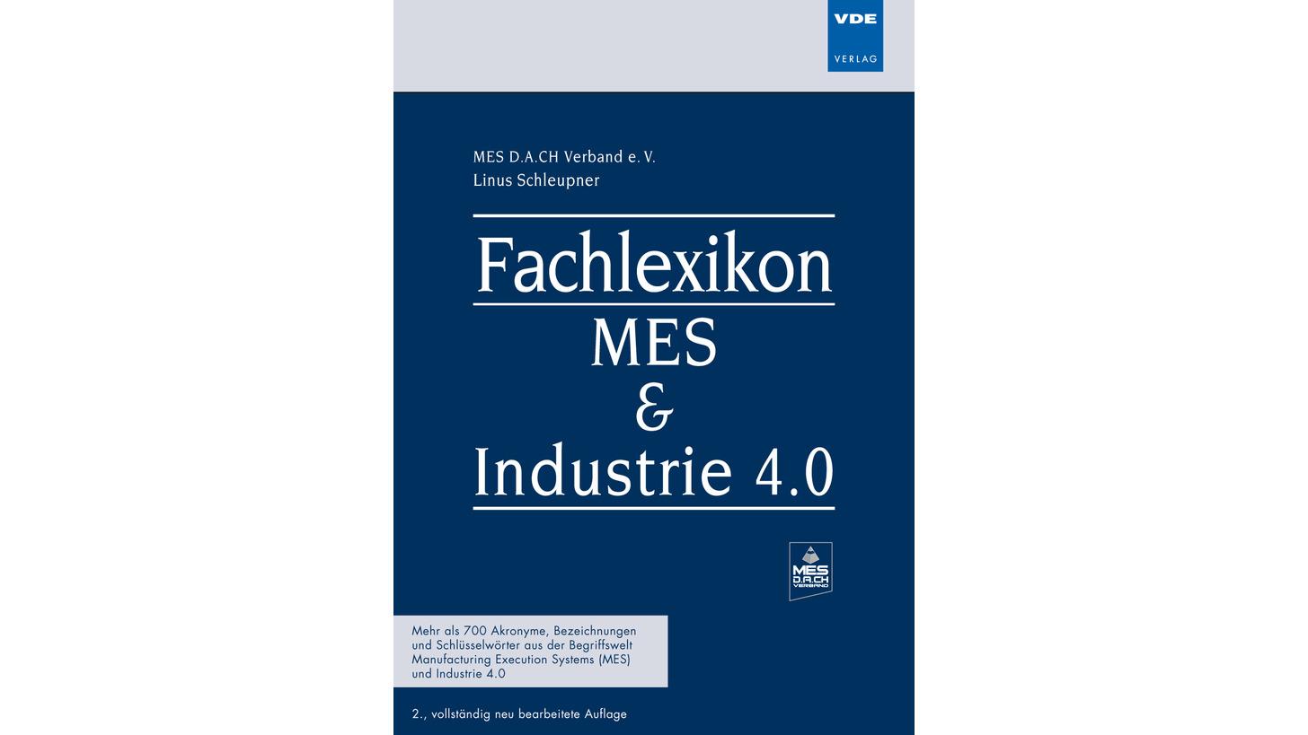 Logo Fachlexikon MES + Industrie 4.0