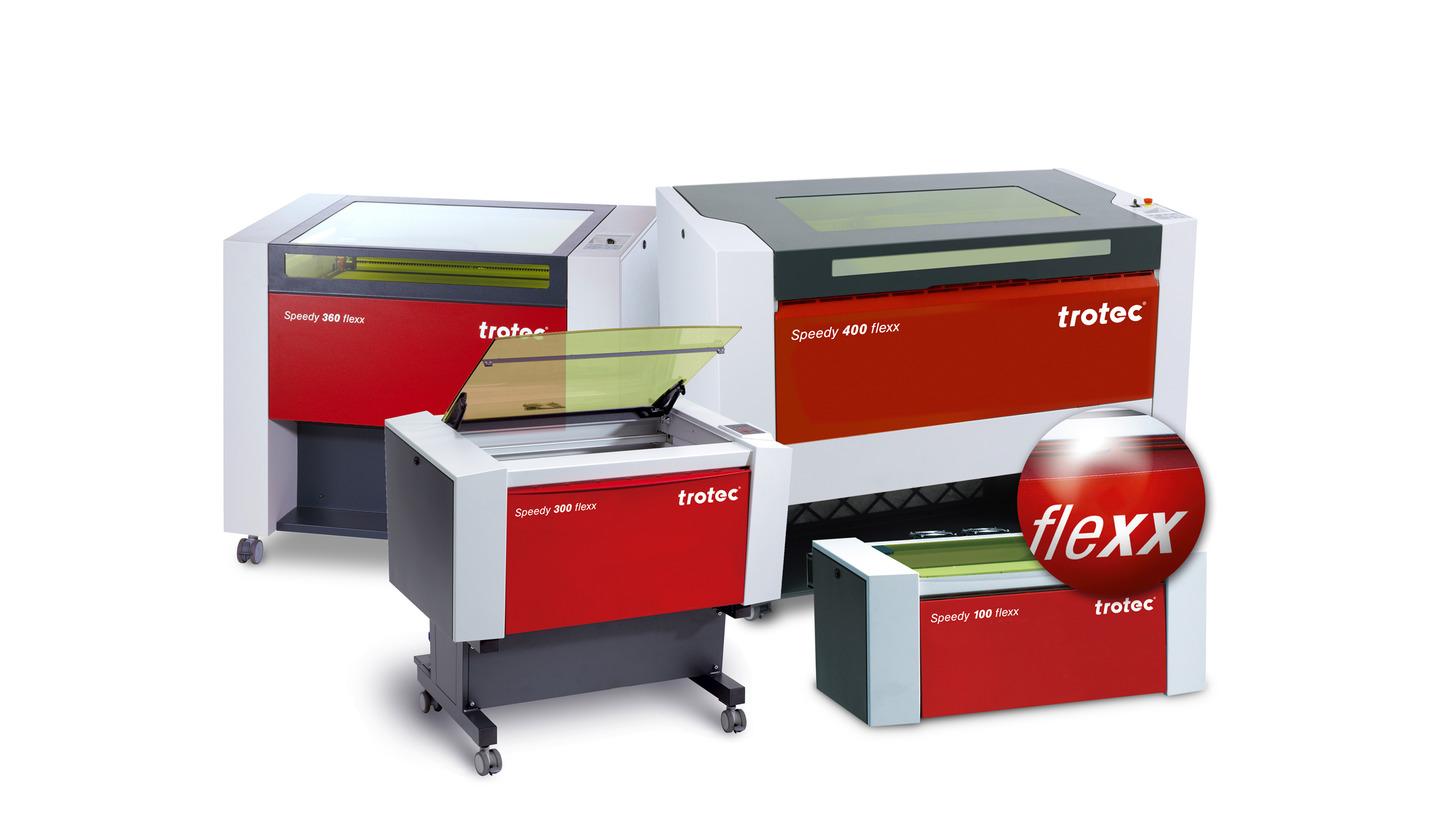 Logo Speedy flexx Lasergraviermaschinen