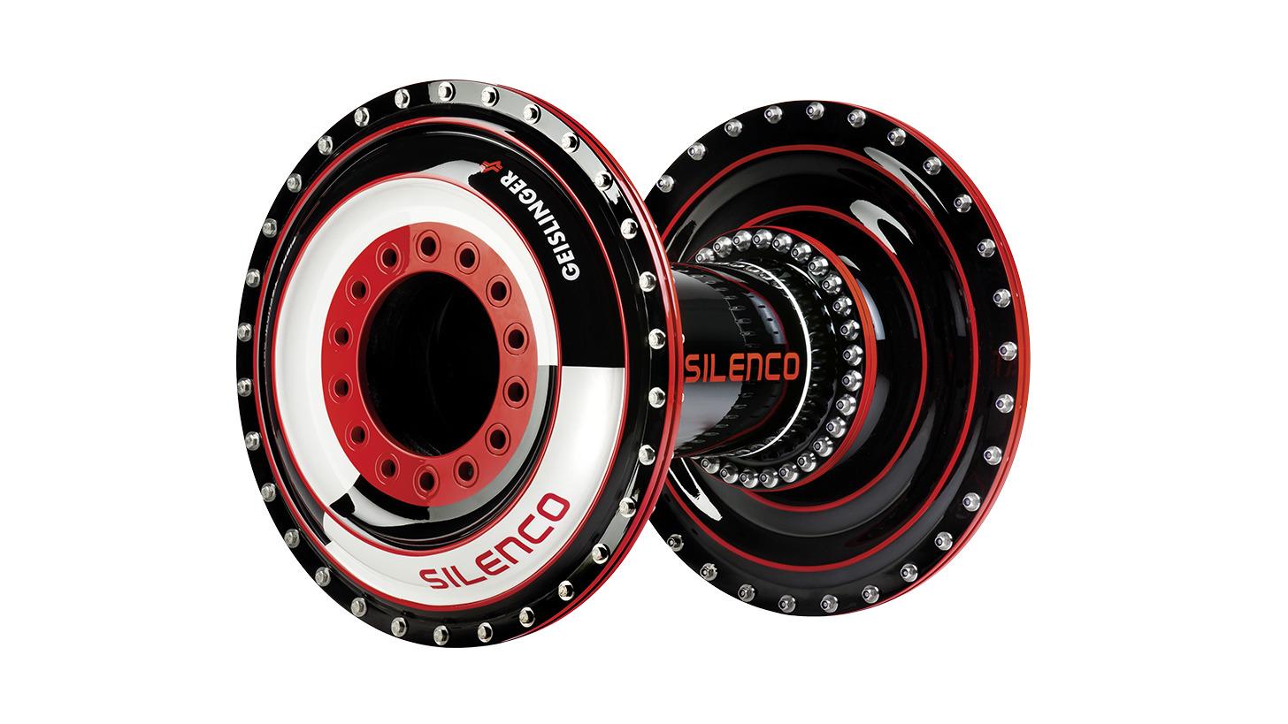 Logo Geislinger Silenco® Coupling