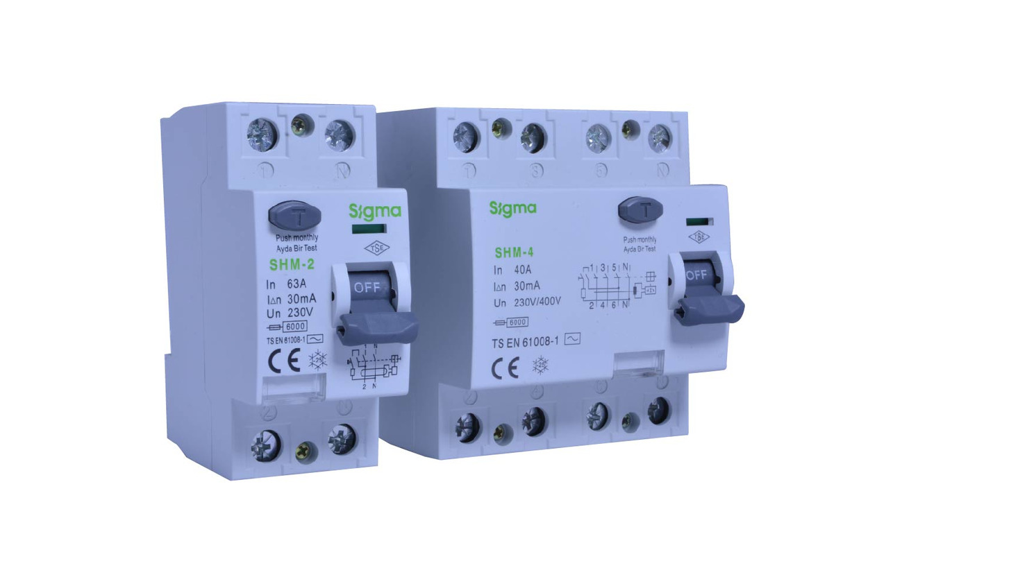 Logo RESIDUAL CURRENT CIRCUIT BREAKER