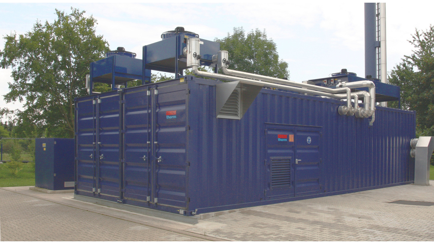 Logo Sewage gas / biogas CHP units 34-550 kW