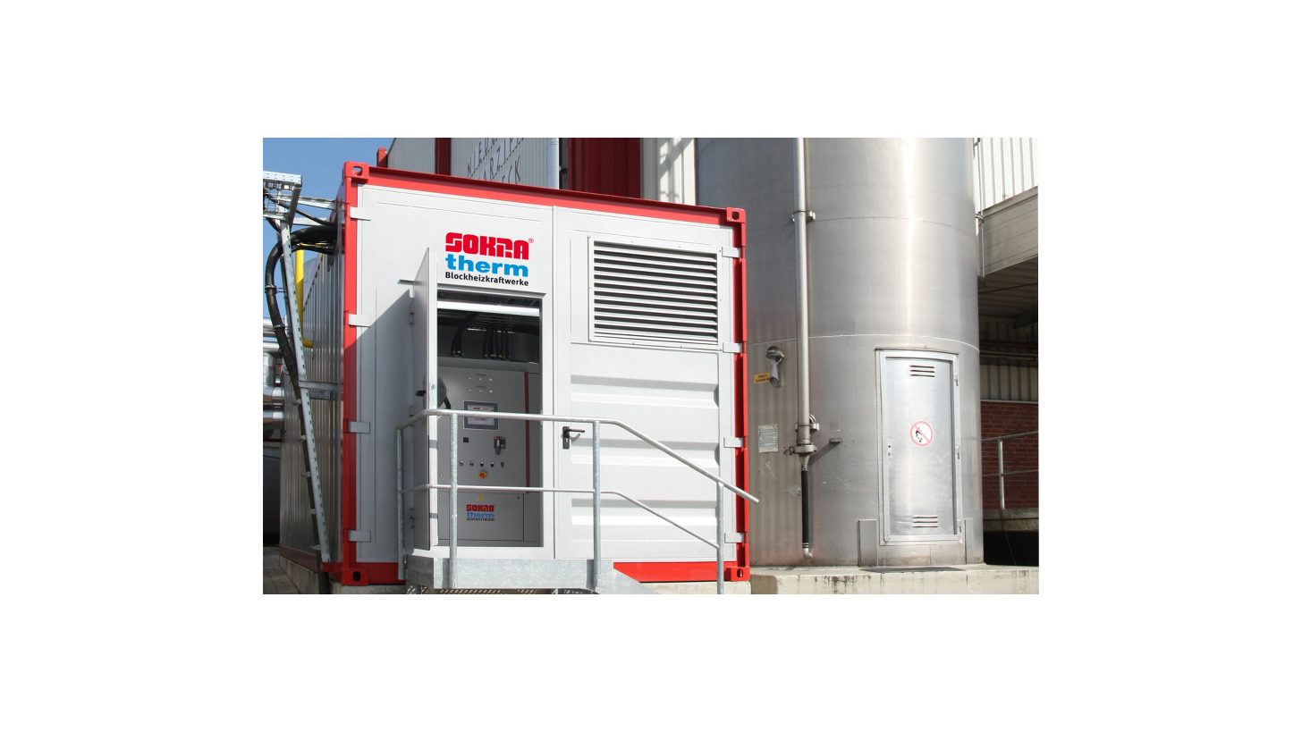 Logo Natural gas powered CHP units 50-550 kW
