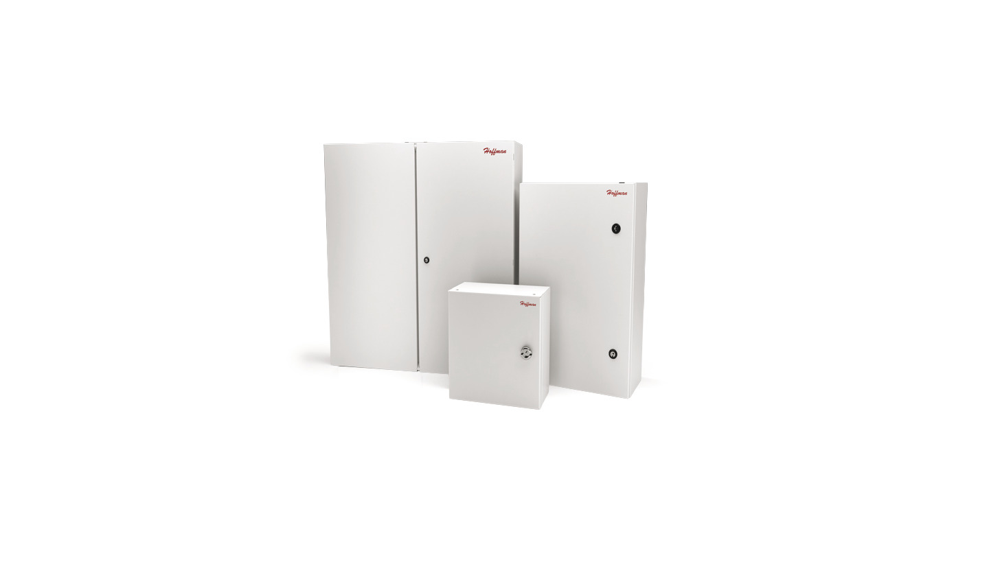 Logo Hoffman Mild-Steel Wall-Mount Enclosures