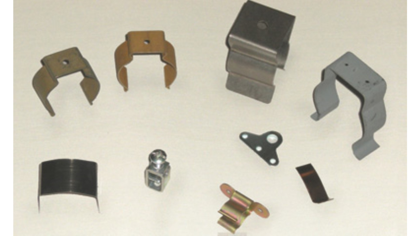 Logo Shaped and assemblated parts
