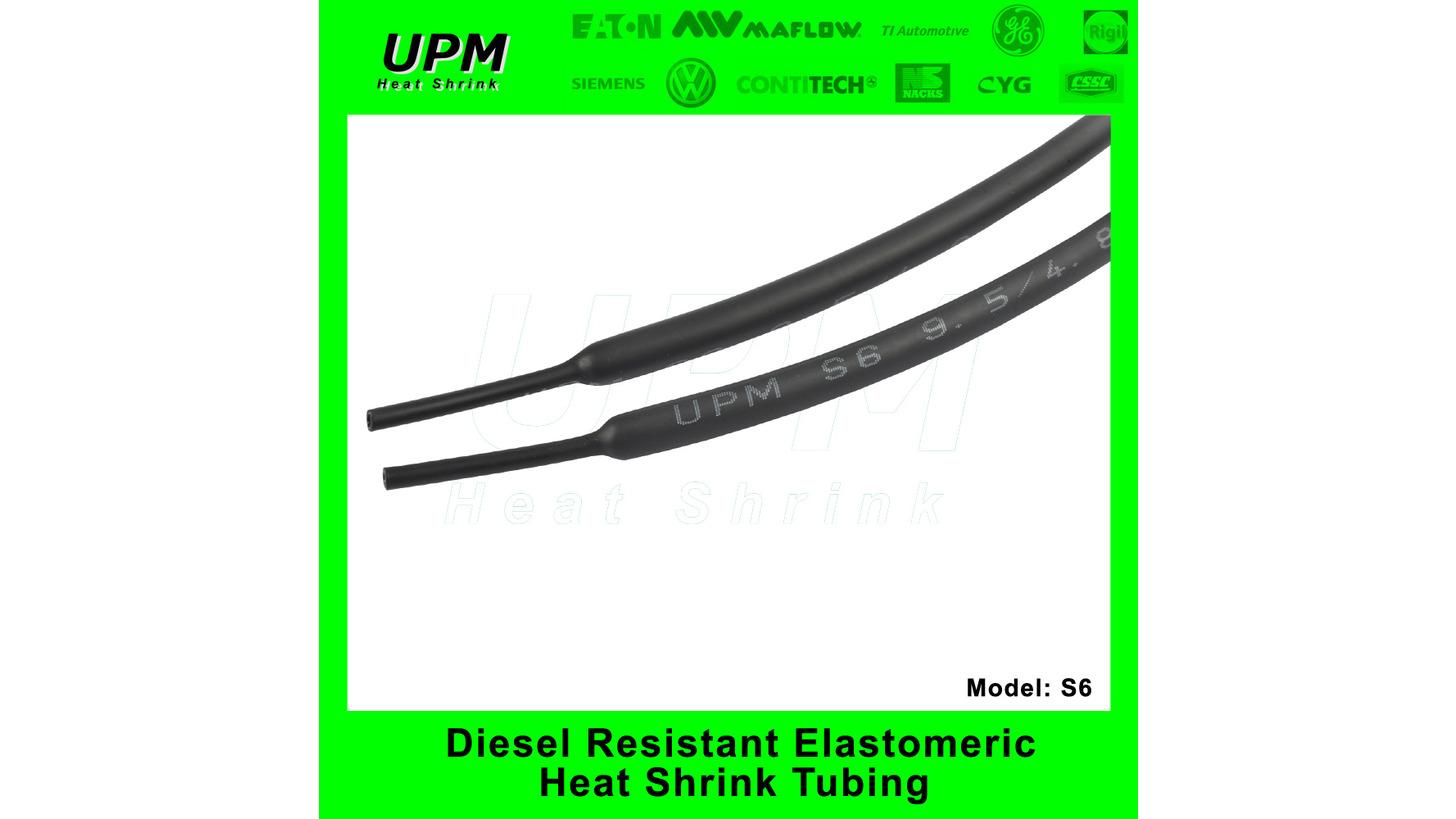 Logo S6 Disel resistant shrink tube