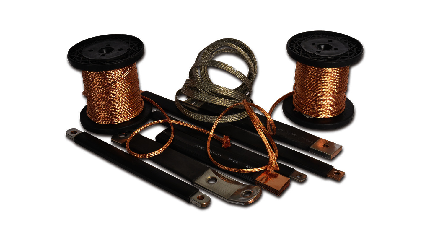 Logo Flexible braided copper cables and tapes