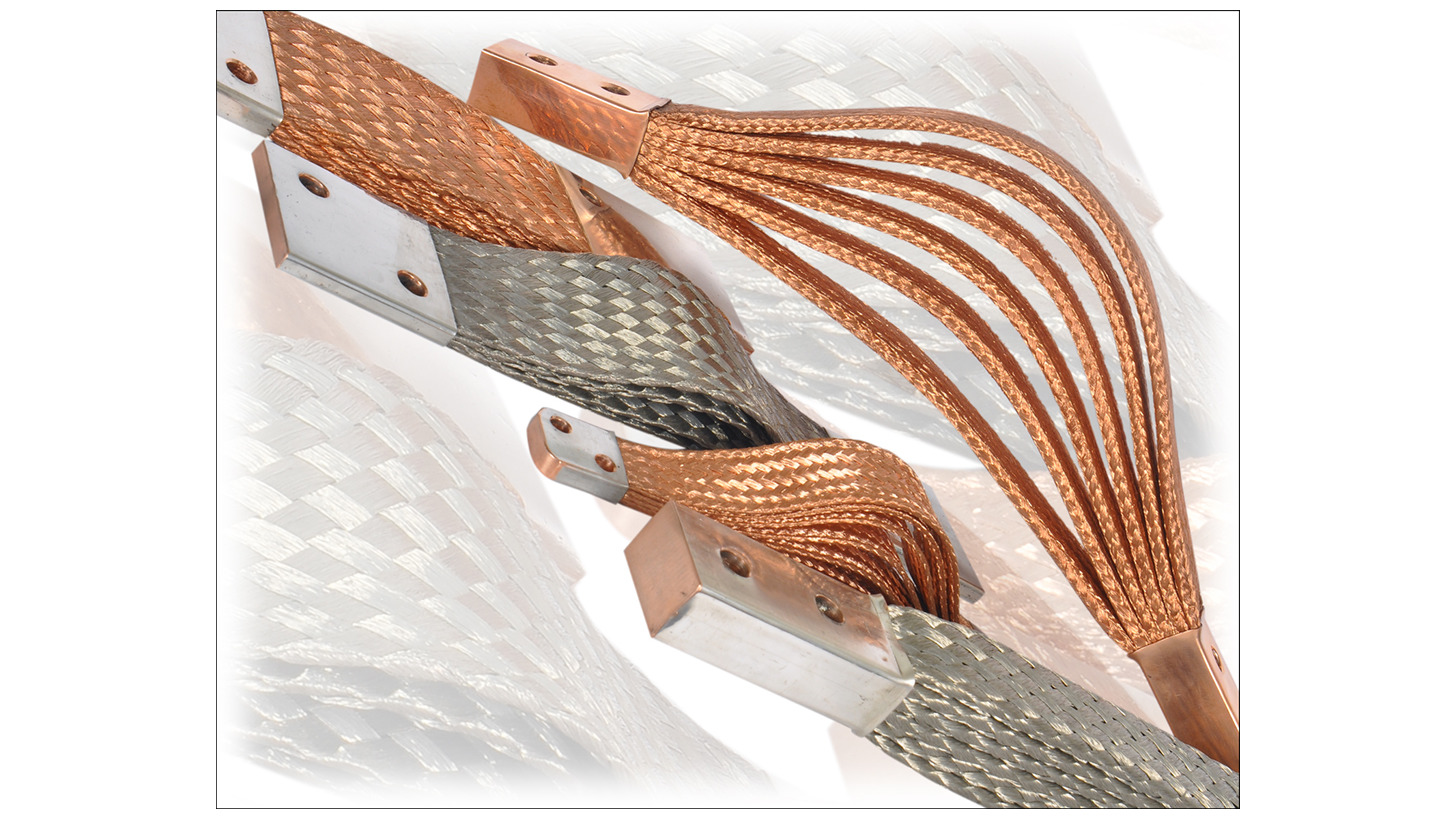 Logo Flexible braided copper connectors
