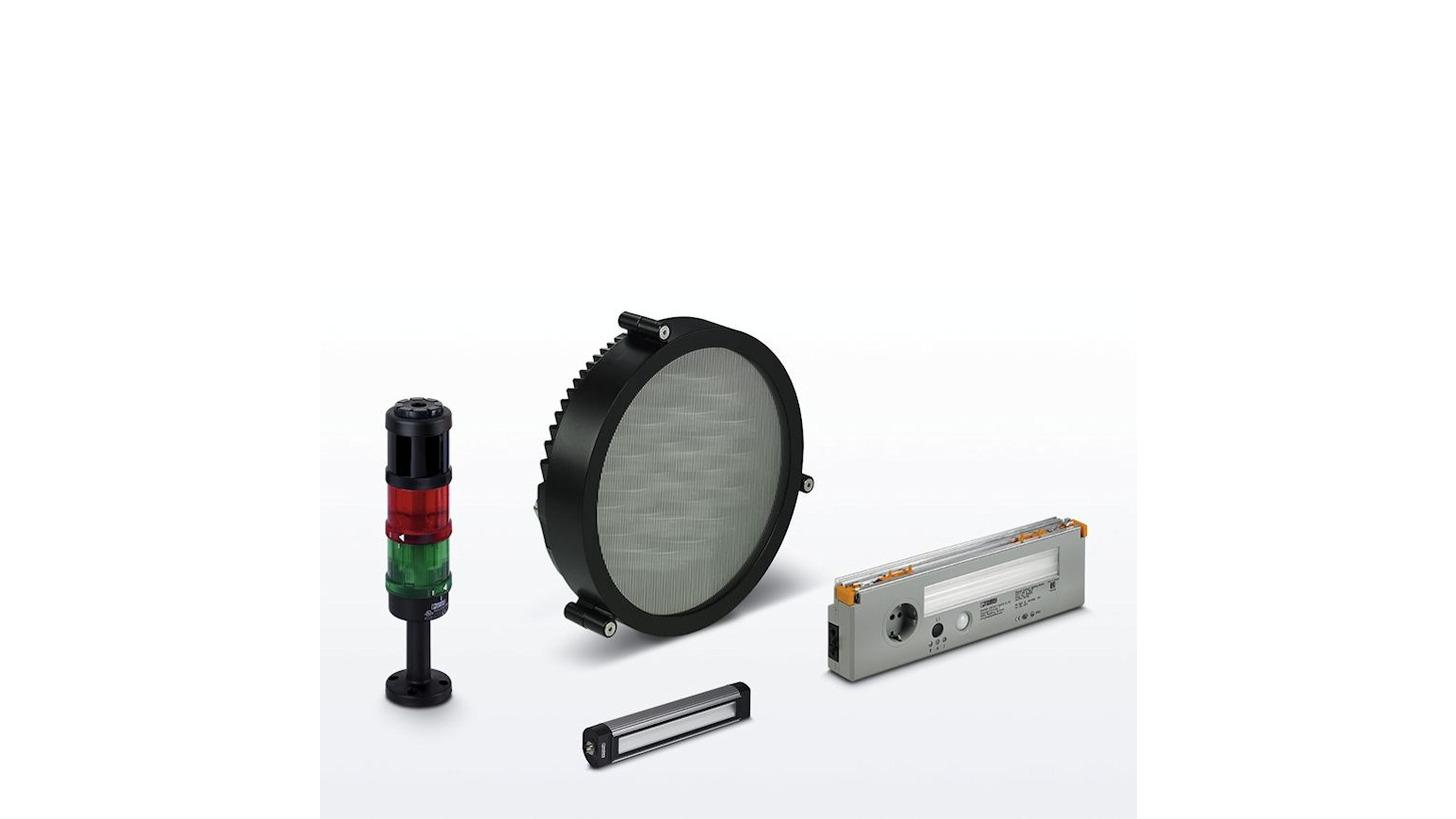 Logo Beleuchtung und Signalisierung