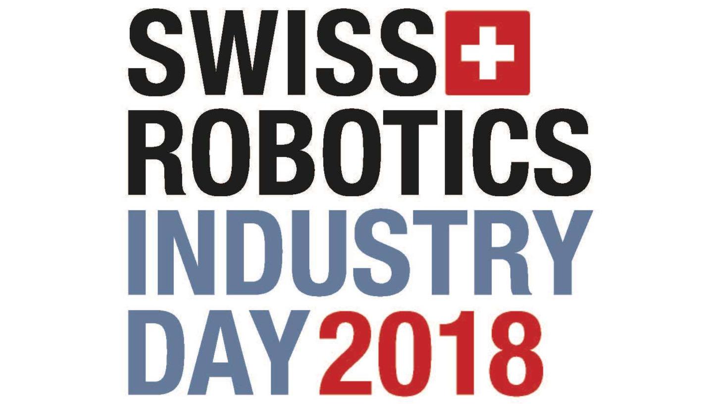 Logo Swiss Robotics Industry Day 2018