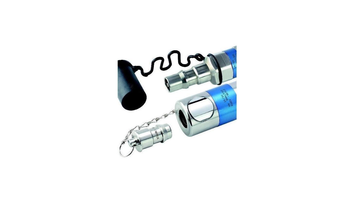 Logo Schnellverschlusskupplungen für Atemluft