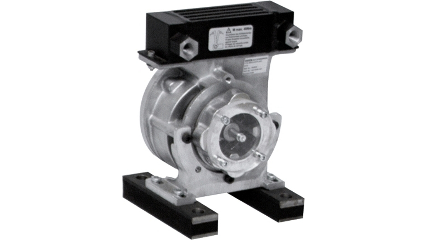 Logo Bell housing with oil/air cooler