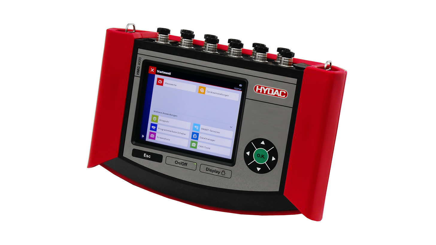 Logo Portable data recorder HMG 4000