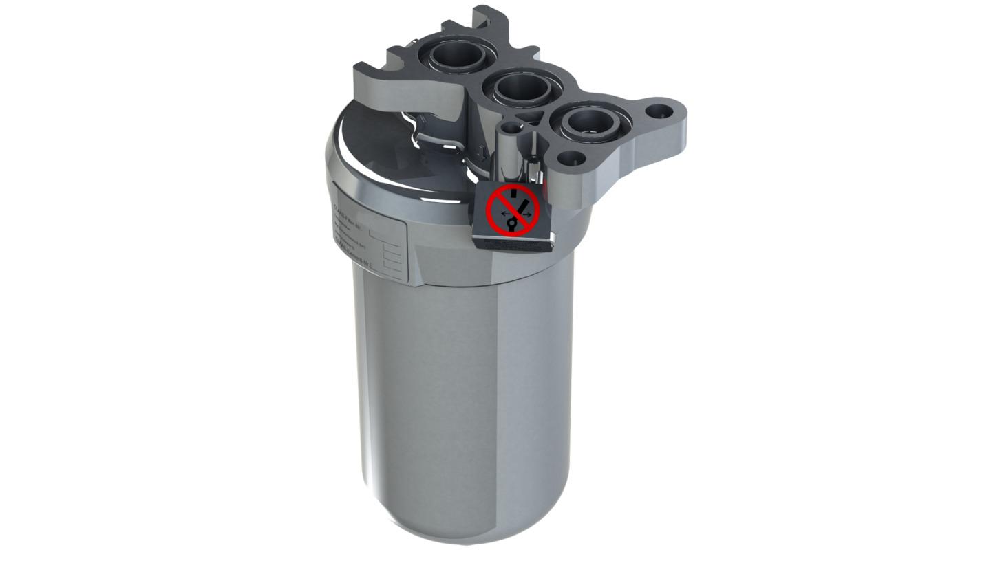 Logo Low Pressure flange-mounted Filter LPFP