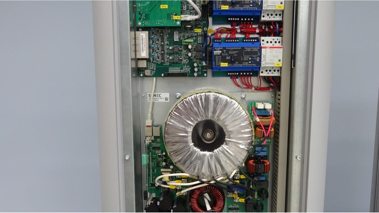 Logo Intelligente Stromspeichersysteme